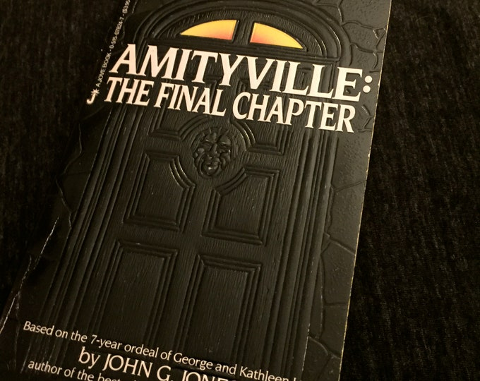 Vintage AMITYVILLE  - The Final Chapter  - Paperback -   by John G. Jones - Horror - Exorcist Exorcism paranormal murder movies movie