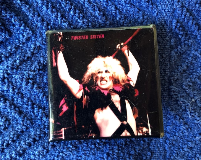 Vintage Dee Snider Twisted Sister Pin Badge Pinback Collectibles Pins SMF Stay Hungry Motley Crue Motorhead Ratt Alice Cooper Marilyn Manson