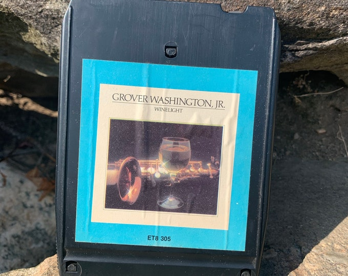 Grover Washington Jr Winelight 8 Track Tape Saxophone Jazz John Coltrane Charlie Parker Herbie Hancock Duke Ellington Mingus Miles Davis Sax