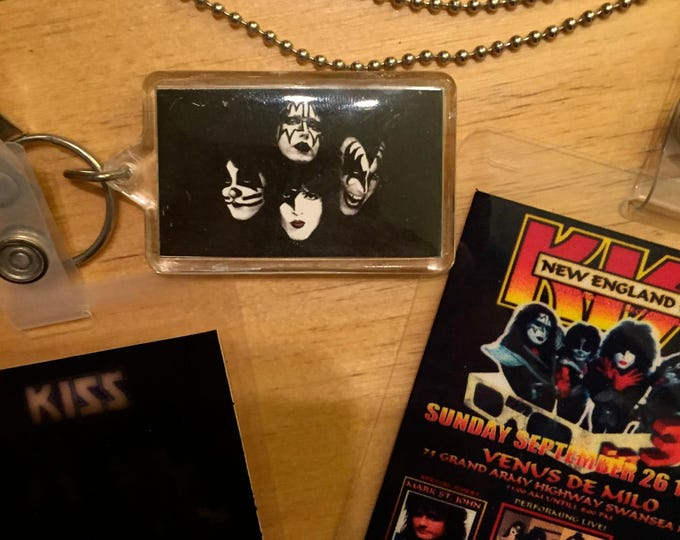 KISS backstage passes plus Gene Simmons KISS ARMY Ace Frehley Kiss Alive Kiss Army Kissband kisstory paul Stanley Peter Criss collectibles