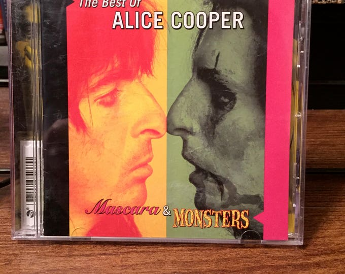Best of Alice Cooper CD Mascara and Monsters Im Eighteen Schools Out Under My Wheels Shep Gordon Frank Zappa Bob Ezrin Billion Dollar Babies