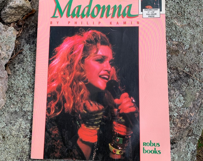 VINTAGE 1985 Madonna Collectors Magazine Like A Virgin Blonde Ambition Vogue Lady Gaga Dance Britney Spears Kylie Minogue Miley Cyrus MTV