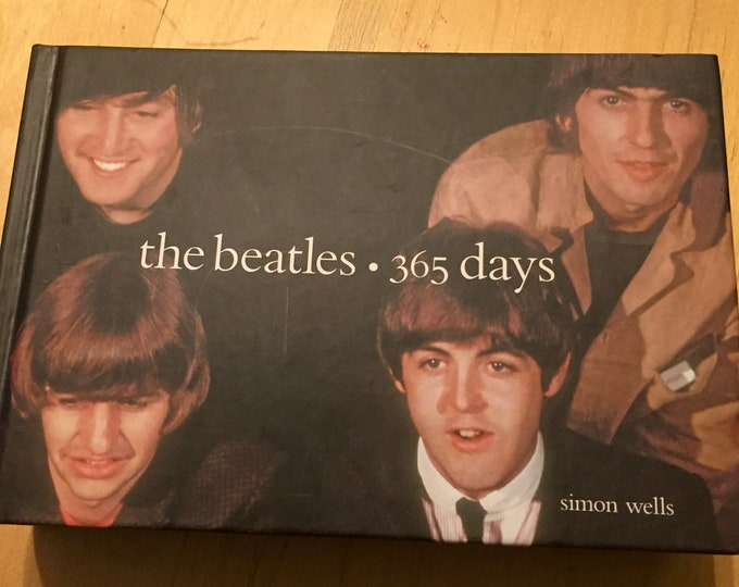 The Beatles Super Thick  Hardcover book 365 days by Simon Wells Love Me Do Help I wanna Hold your Hand Revolver