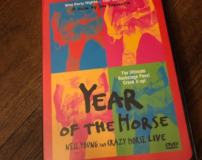 RARE Neil Young and Crazy Horse DVD  CSNY Bruce Springsteen Bob Dylan Eddie Vedder Lou Reed Janis Joplin Van Morrison Woodstock Jimi Hendrix