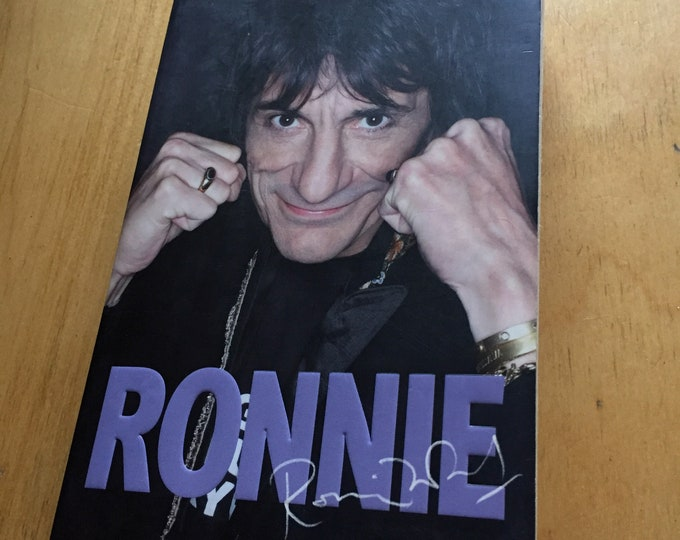 Ron Wood Rolling Stones 2007 Softcover Book Bestseller Tattoo You Voodoo Lounge Emotional Rescue Ronnie Wood