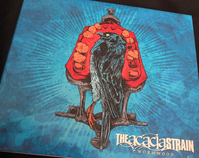 The Acacia Strain Wormwood CD  Metalcore Vincent Bennett Prosthetic Records Heavy Metal Thy Art Is Murder Fit for an Autopsy Born Of Osiris