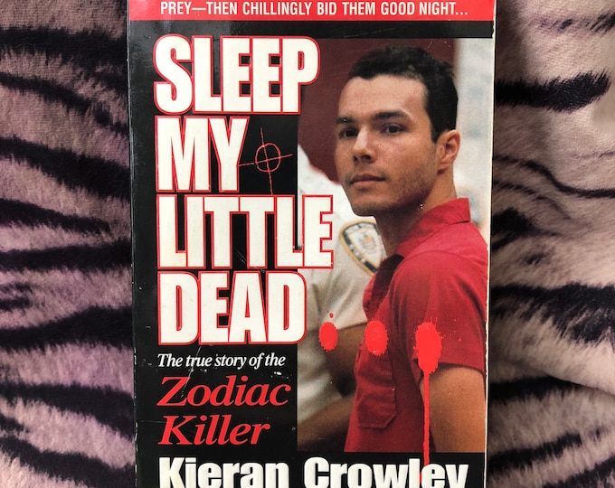 Zodiac Killer softcover book 1997 Serial Killers Death TrueCrime Crime Murder Psycho Homicide Ted Bundy John Wayne Gacy Albert Fish Mystery