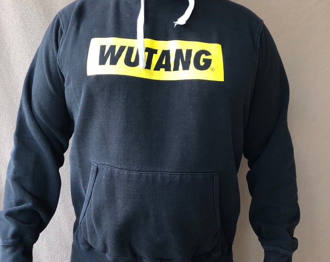 WUTANG - XL Hoodie - Rap Hip Hop - Rza Gza Method Man Odb WuTangClan Hoody Band Shirt Ghostface Killah NAS Tupac Snoop Dogg Busta Rhymes