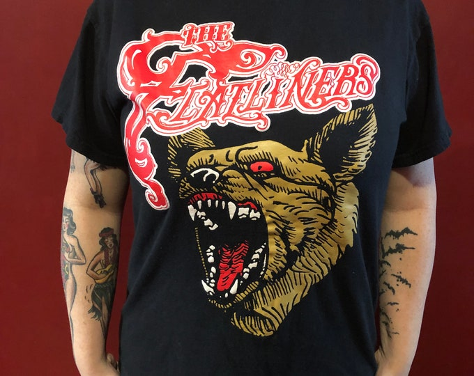 The Flatliners Band shirt (M) NOFX Fat Mike Strung Out Youth Brigade Dayglo Abortions SNFU Lagwagon Pennywise TSOL Masked Intruder  doa