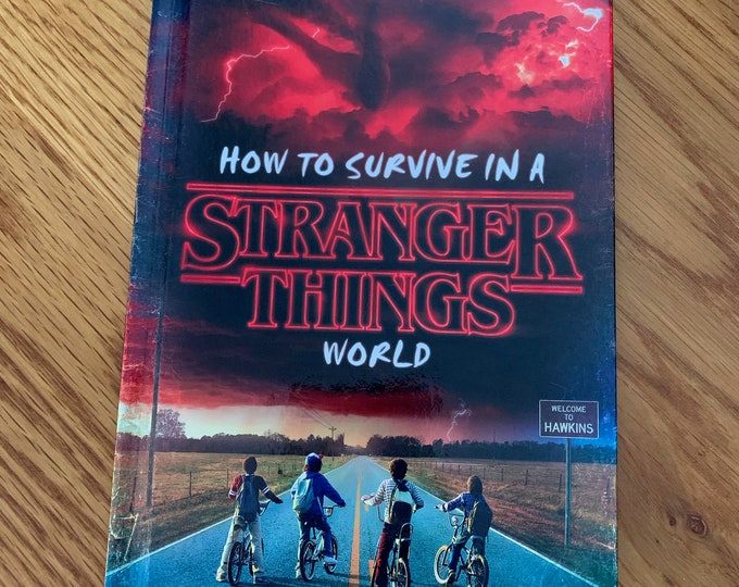 Stranger Things Childrens Hardcover Book Eleven Netflix Sci Fi Horror Comics Winona Ryder Retro TV Television Suspense Mystery X Files