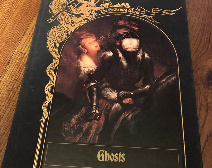 1984 Time Life Ghosts The Enchanted World Paranormal Haunting Witch Occult Palm Reading Psychic Gypsy Crystal Ball Card Reading Poltergeist
