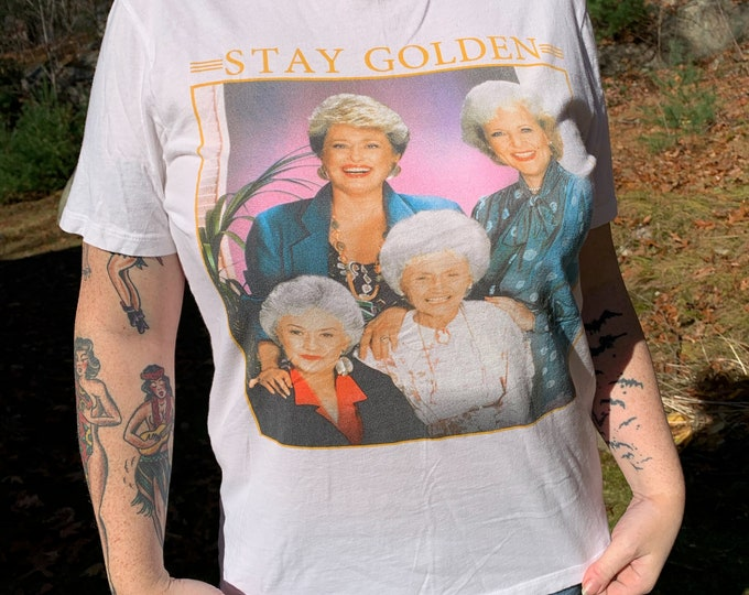 Golden Girls Shirt (M) Betty White Bea Arthur Rue McClanahan Estelle Getty TV Sitcom Television Comedy ABC Studios Empty Nest  Whos the Boss
