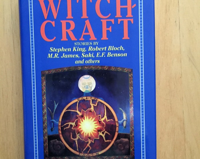 Tales of Witchcraft - Vintage Hardcover Book - Witch Horror Occult Tarot witches Witchy Salem Goth Gothic Gothgirl Hex Coven Pagan Halloween