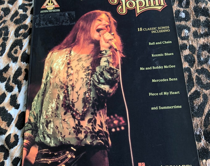 Best of Janis Joplin Hal Leonard guitar Softcover book  sheet music guitar tab Guitar Player Guitarist Woodstock Jimi Hendrix Jim Morrison