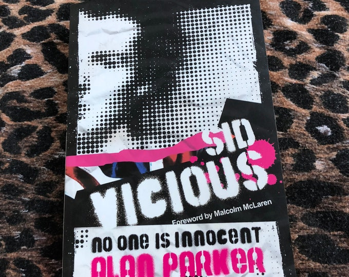 Sid Vicious Softcover Book - 2008 -  Johnny Rotten Sex Pistols Punk Anarchy God Save the Queen Nevermind The Bollocks Nancy Spungen Heroin
