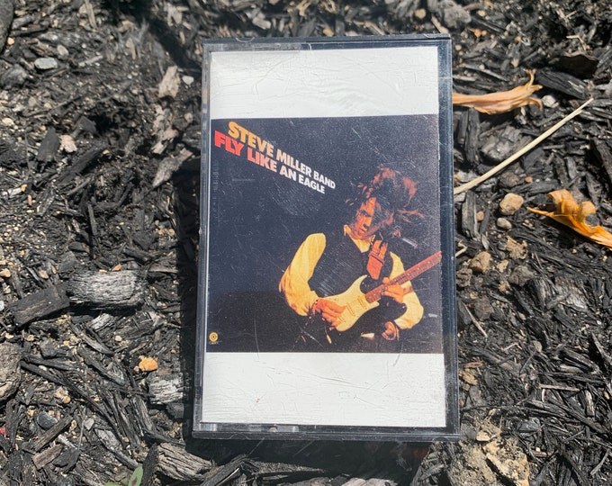 Vintage 1976 Steve Miller Band Fly Like An Eagle Cassette Tape Journey Bob Seger Peter Frampton Bruce Springsteen Pete Townshend Tom Petty