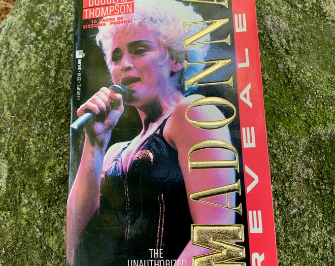 VINTAGE 1992 Madonna Revealed Book Like A Virgin Blonde Ambition Vogue Lady Gaga Dance Britney Spears Kylie Minogue Cher Miley Cyrus MTV
