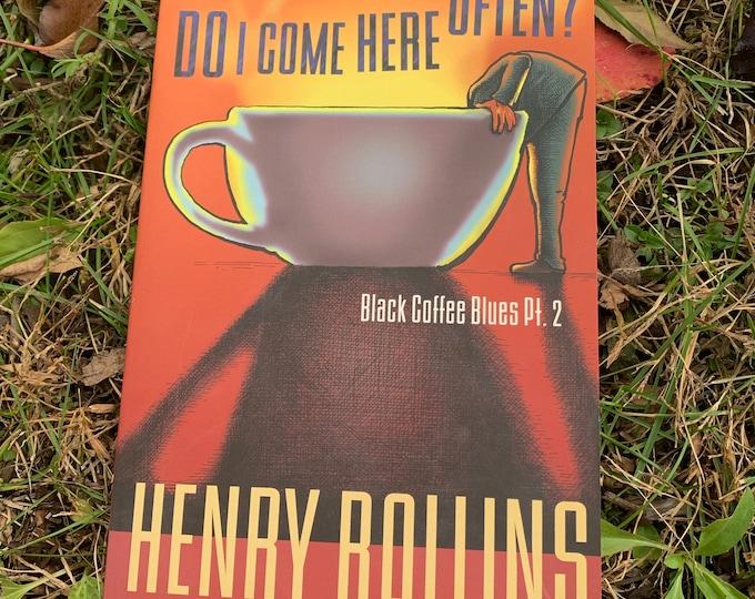 Vintage 1998 Henry Rollins Do I Come Here Often Book Black Flag Rollins Band  PunkRock Punks Not Dead PunkRocker Bad Brains Minor Threat