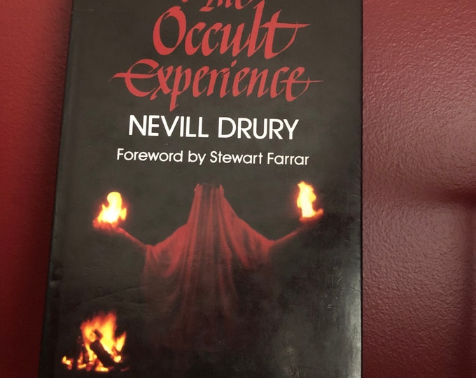 Vintage 1987 The Occult Experience Hardcover Book Witch Occult Tarot Witches Witchy Goth Gothic Sorcerer Hex Pagan Halloween Witchcraft Hell