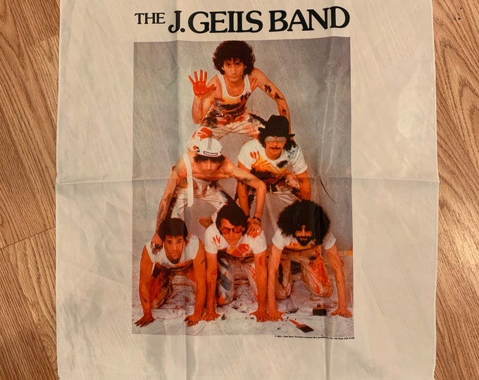 Vintage J. Geils Band Nylon Tapestry Journey Foreigner Peter Frampton Freezeframe Peter Wolf Magic Dick Love Stinks John Fogerty Grand Funk