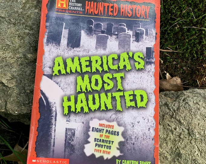 Scholastic Haunted History Ghosts Paranormal Haunting Witch Occult Palm Reading Psychic Gypsy Crystal Ball Card Reading Poltergeist Houdini