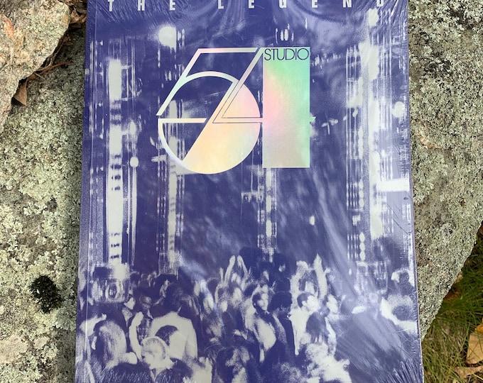 Studio 54 The Legend Softcover Book Nightclubbing Disco The Rolling Stones Supermodel Naomi Campbell Iman David Bowie Iggy Pop Grace Jones