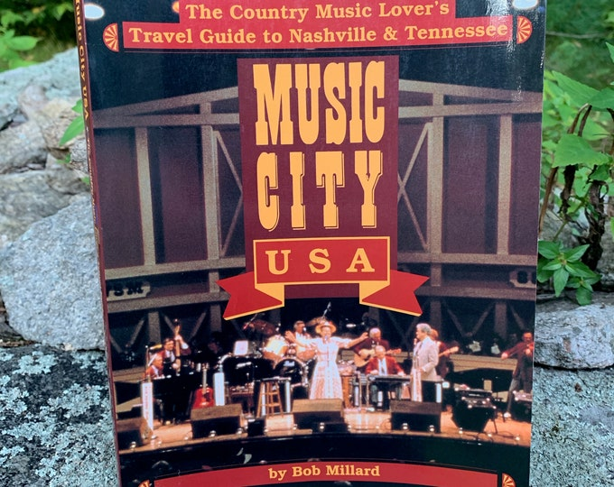 Music City USA Book 1993 Bluegrass CMT Grammys Grand Ole Opry Willie Nelson Hank Williams Buddy Holly Merle Haggard CMA Waylon Jennings