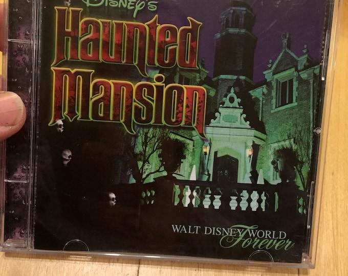 Walt Disney World Haunted Mansion  CD  Theme Park Ride Soundtrack Disneyland Disneyworld Collectibles  Walt Disney Ghosts Ghost Spooky
