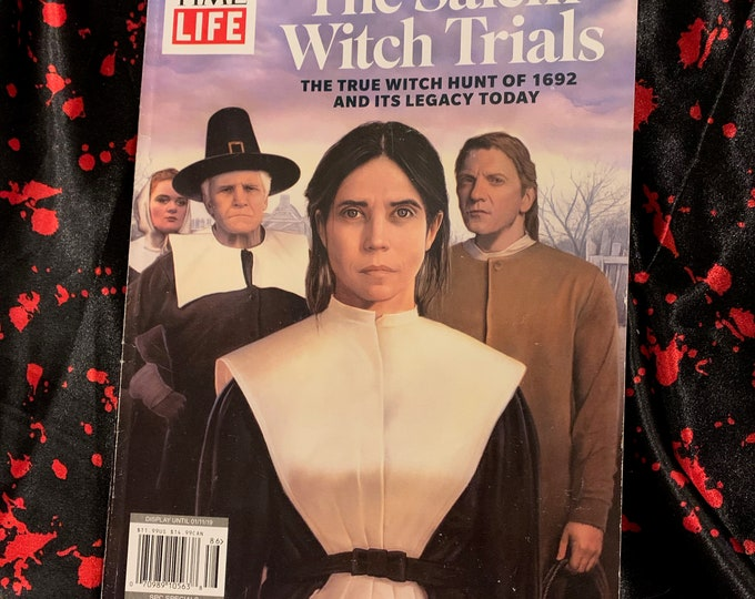 TIME/LIFE The Salem Witch Trials Magazine Special Edition Wiccan Witch Witchcraft Coven Occult Salem Massachusetts Witchhunt Tarot Satanic