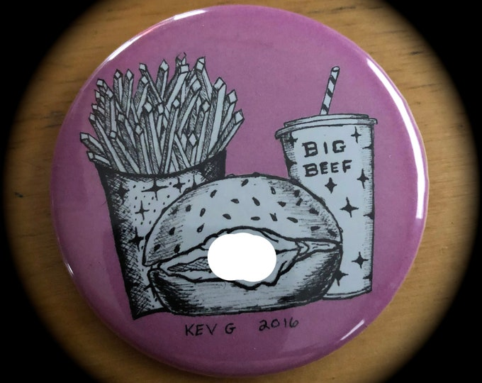 Roast Beef Adult Boogie Nights Pin by ArtByKevG Pin Badge Punkrocker Punk Heavy Metal Metalhead Gothic Gothic Naughty Bitch Sexy Sarcasm