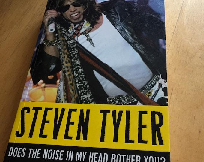 Steven Tyler Aerosmith Softcover Book  A Rock n Roll Memoir Walk This Way Dream On Bad Boys From Boston Bon Jovi Def Leppard Motley Crue