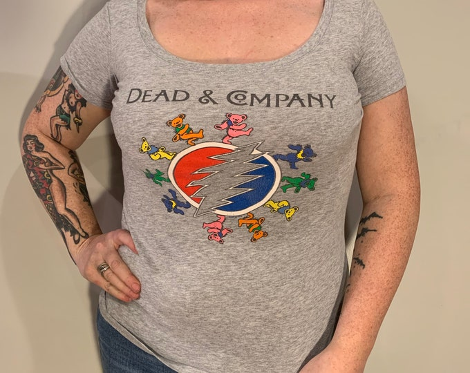 Jerry Garcia Grateful Dead Band Shirt (Ladies M) Marijuana Bears Phil Lesh Bob Weir Steal Your face Phish Jam Band Hippies Terrapin Station