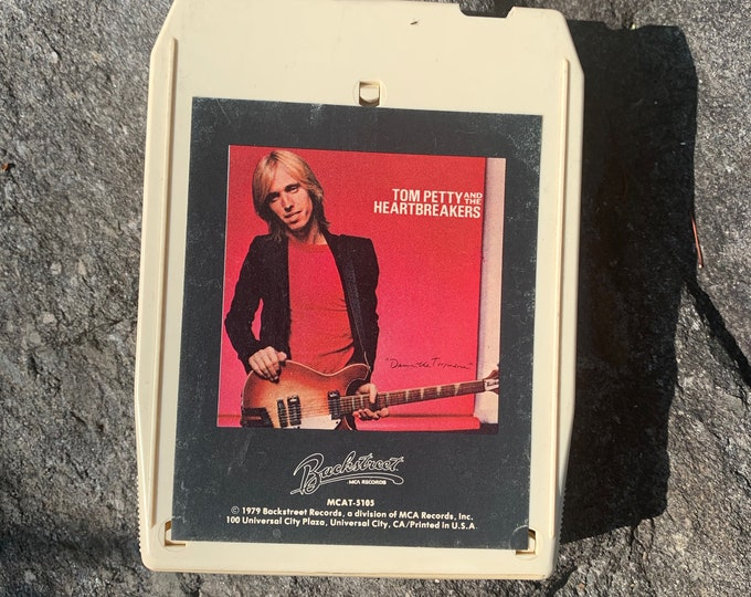 Tom Petty The Heartbreakers Damn The Torpedos 8 Track Tape Johnny Cash Neil Young Van Morrison John Mellencamp Traveling Wilburys Mudcrutch