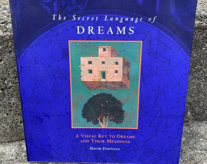 Vintage 1994 The Secret Language of Dreams Softcover Book Politics Art Religion Psychology Anxiety Sigmund Freud Carl Jung Psychologist