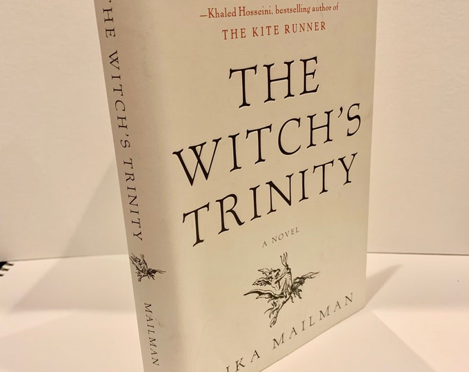The Witch's Trinity Hardcover Book Witch Witchcraft Coven Salem Massachusetts Witchhunt Hex History Tarot Spellbook Cult Ritual Mantra