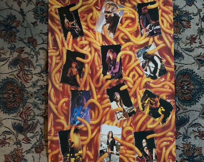 Vintage 1994 Guns N Roses GNR Spaghetti Incident Poster Dokken Motley Crue Aerosmith Judas Priest Iron Maiden Axl Rose Slash Duff McKagen
