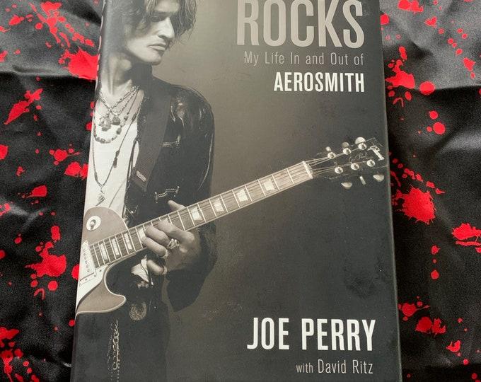 Joe Perry Aerosmith Hollywood Vampires Hardcover Book Walk This Way Bad Boys From Boston Bon Jovi Def Leppard Motley Crue Steven Tyler Ratt