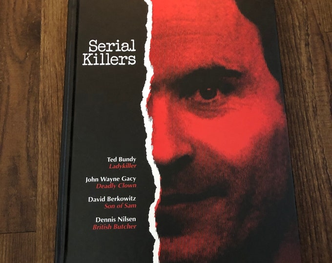 VINTAGE Time Life Book Serial Killers Hardcover Book True Crime Serial Killer Ted Bundy John Wayne Gacy David Berkowitz Son of Sam Murder