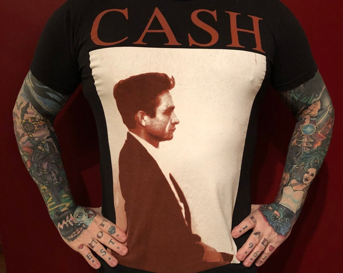 JOHNNY CASH (S) Zion  band shirt  Ring Of Fire Country nin Trent Reznor Band Tee Country Music Folsom Prison Sun Records June Carter cma cmt