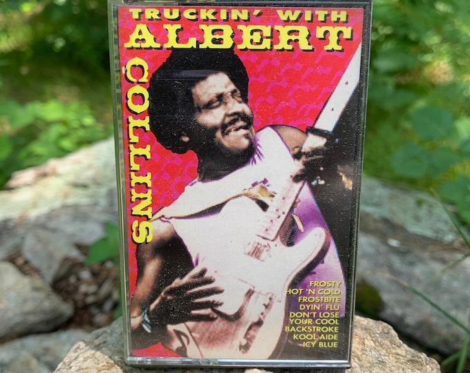 Truckin' With Albert Collins Cassette Tape Muddy Waters Willie Dixon BB King Robert Johnson Buddy Guy Blues Leadbelly John Lee Hooker