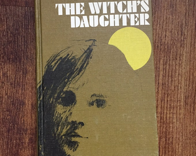 Vintage Hardcover Book The Witch's Daughter 1966 by Nina Bawden  Childrens Weekly Reader witchcraft occult reading education collectibles