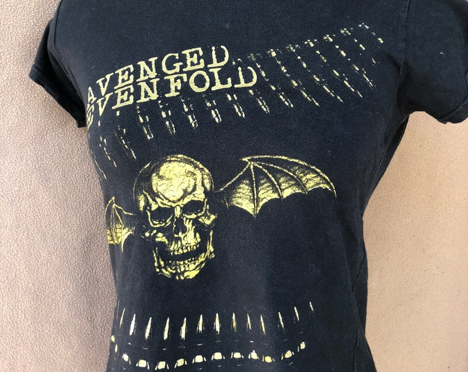 Avenged Sevenfold Band Shirt (Ladies L) Matt Shadows Synyster Gates Zacky Vengeance Jimmy Sullivan The Rev Mike Portnoy A7X Hollywood Undead