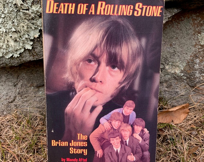 Brian Jones The Death of A Rolling Stone Softcover Book The Rolling Stones Mick Jagger Charlie Watts Bill Wyman Ron Wood Keith Richards