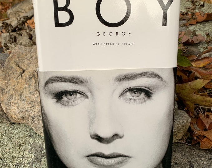 Vintage 1995 Boy George Culture Club Hardcover Book George Michael Pete Burns Duran Duran Spandau Ballet Tears for Fears Pere Ubu The Slits