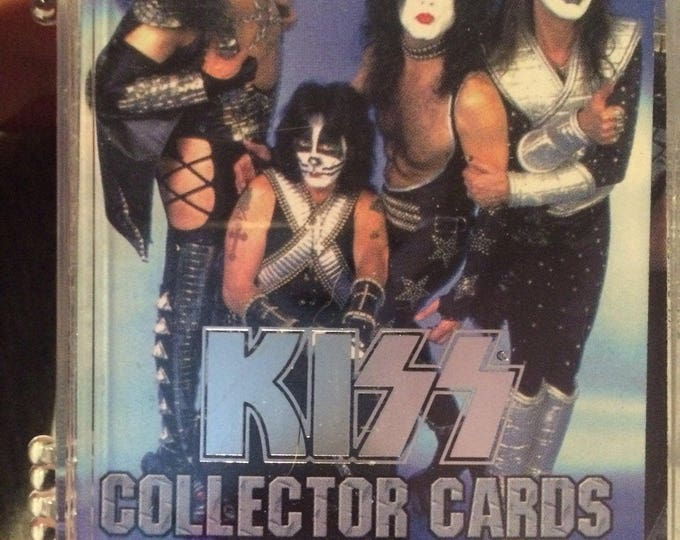 KISS Trading Cards - Series One (1997) PLUS 6 Insert Cards Peter Criss Paul Stanley Ace Frehley Gene Simmons Kiss Alive Kiss Army Kissband