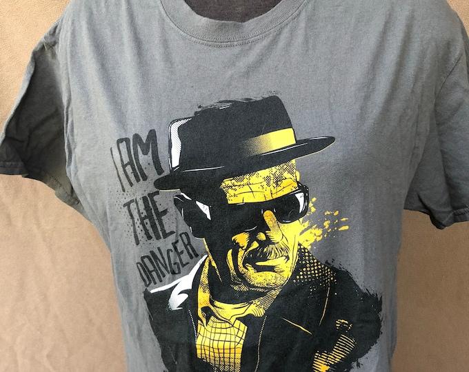 Breaking Bad  Walter White T shirt (Med) Heisenberg HBO Netflix Television Drama Druglord FDA FBI Heisenberg tv Sex Drugs RocknRoll