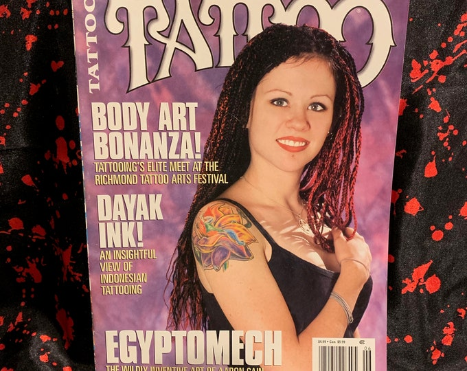 Vintage Tattoo Magazine ~ World's Largest Selling Tattoo Magazine ~ June 1999  Tattoos Inked Tattooist Tattooer Tattoo Shop Tattooing Inked
