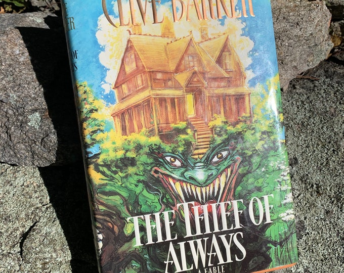 Clive Barker The Thief of Always Hardcover Book 1992 Occult Novel Ritual Witch Witchcraft Michael Myers Hellraiser Serial Killers Wes Craven