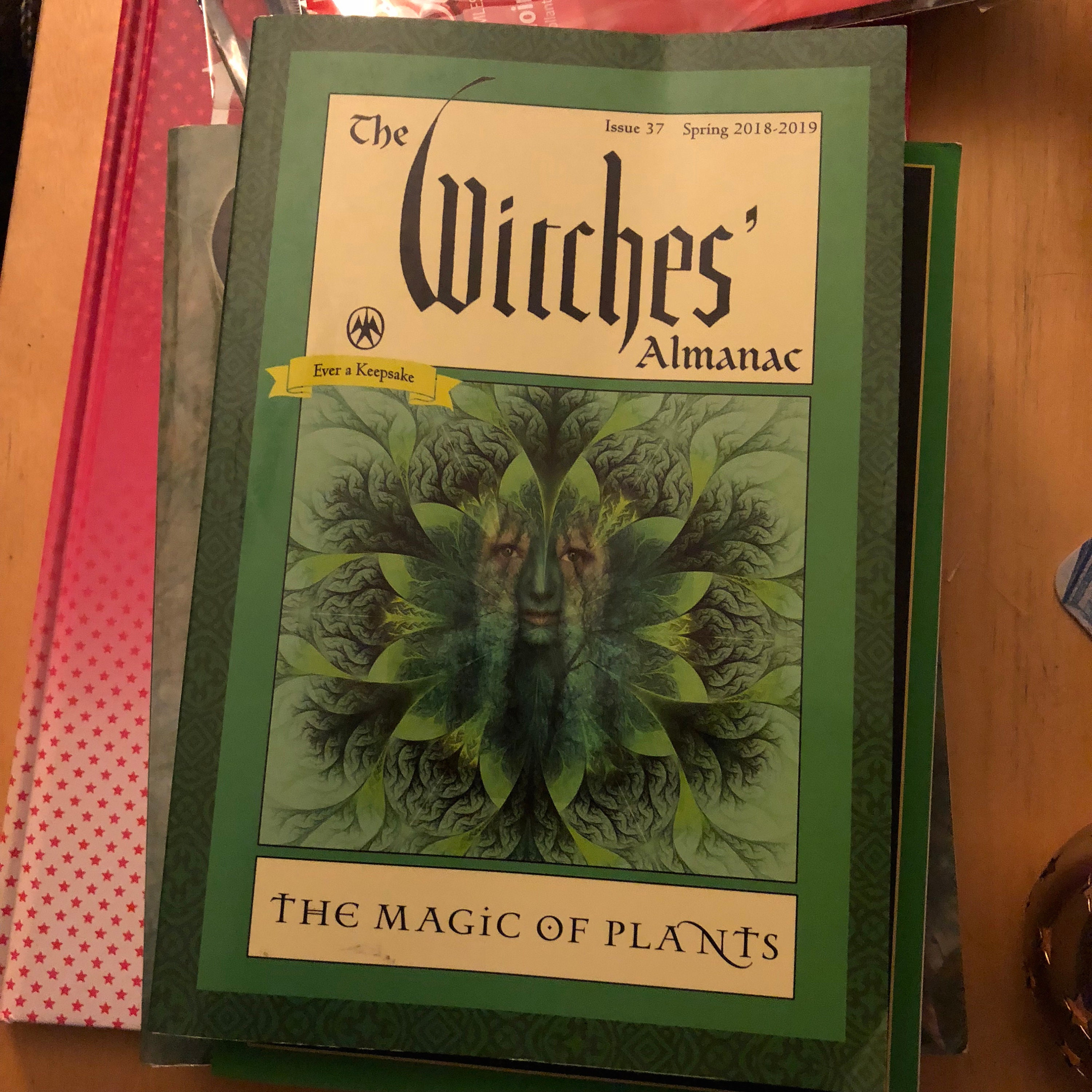 Witches Almanac Issue 37 Spring 2018-2019 The Magic of