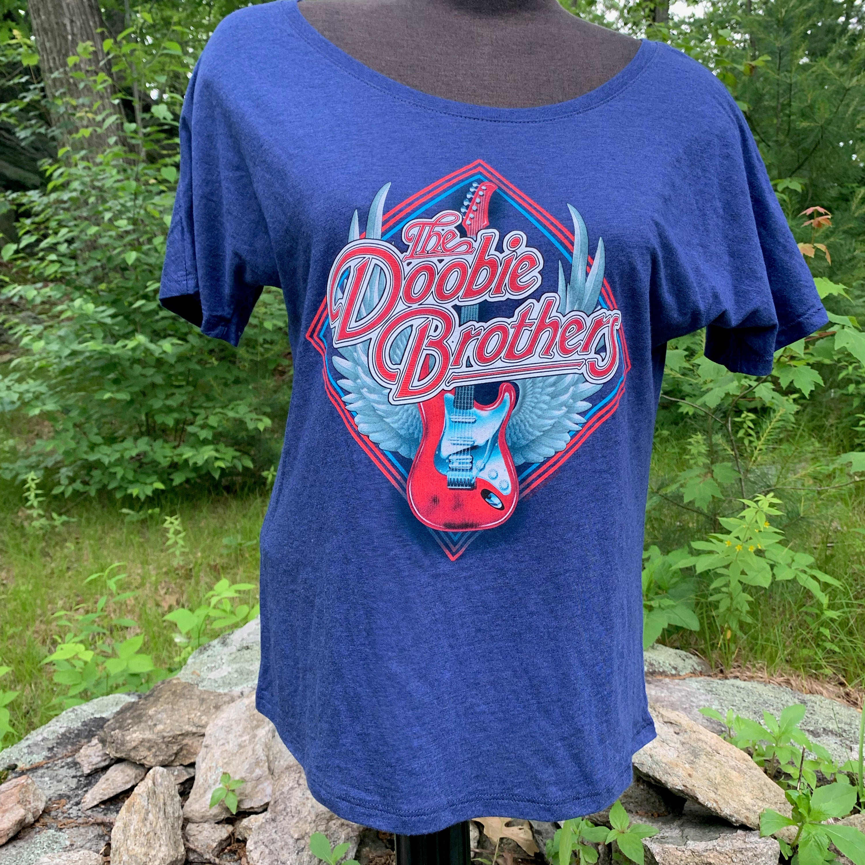 The Doobie Brothers Band Shirt (Ladies S) Soft Rock